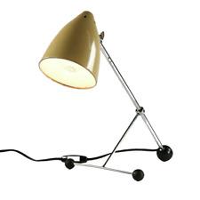 Tisch Lampe Hala Zeist Design H. Busquet Leuchte Krähenfuß Tripod Vintage 50er
