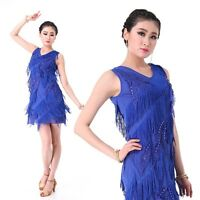 New Latin Dance Dress Salsa Cha Cha Tango Ballroom  6 colors available #LD18