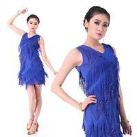 New Latin Dance Dress Salsa Cha Cha Tango Ballroom  6 colors available #LD18