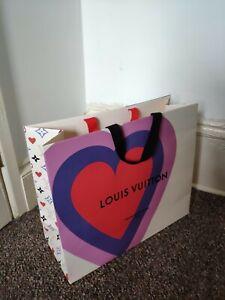 LV 40/34/16cm Medium wide Louis vuitton Gift Bag Valentine's Day