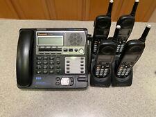 Panasonic KX-TG4500B 5.8 GHz Digital Voice Mail & 4 Cordless Handsets