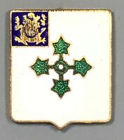WWII Army 47th Infantry Regiment DUI DI Unit Crest PB Gemsco