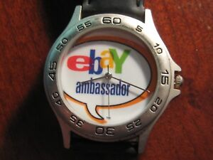 EBAY AMBASSADOR Quartz Wrist Watch Fresh Battery Installed