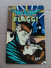 American Flagg ! 24 . Alan Moore - First 1985 - VF