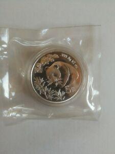 5 Yuan Panda 1998 HongKong OMP China RAR