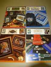 True Colors Cross Stitch Pattern Lot Old Country Store Wood Ducks Jungle Kingdom