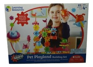Learning Resources Gears! Pet Playland Toy, Building Set...