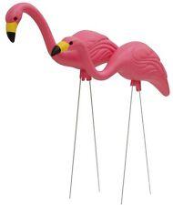 Yard Pink Flamingo 2-Pack Lawn Art Ornament Statue Fade Rust Resistant Landscape