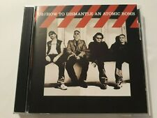 """U2 """"HOW TO DISMANTLE AN ATOMIC BOMB"""" CD MADE IN ARGENTINA 2004! bono vox uk glam"""