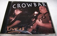 CROWBAR – Live + 1 CD   NEW ORLEANS SLUDGE METAL   +New & Sealed+