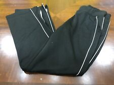 Womens Charles River Apparel For Her Black Athletic Pants Small