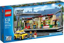 Lego 60050 City Train Station Building Set - New