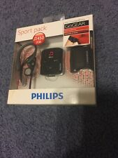 New Philips Go Gear Raga Mp3 Player 2GB Sport Pack GoGear Brand New NIP RARE
