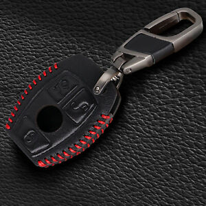 3 button key cover fob case for Mercedes benz CLS CLA GL R SLK AMG A B C S class