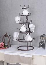 Tasse D'arbre Shabby Chic Support De Tasses Brocante Porte-gobelet Antique 66cm
