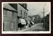 Somerset SOUTH PETHERTON St James St Tuck RP PPC Chard shopfront 1950s
