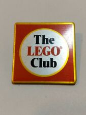 """Vintage THE """"LEGO"""" CLUB 1980's Members Pin Badge"""