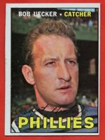 1967 Topps #326 Bob Uecker EX-EXMINT+ MISCUT Philadelphia Phillies FREE SHIPPING
