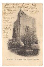 domfront  le donjon  ,façade extérieure