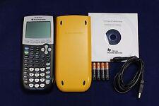 Refurbished TI-84 Plus Graphic Calculator Texas Instruments TI84 USB CD Manual
