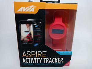 Avia Aspire Activity Tracker Red Brand New Fitness track AV-CF2003P