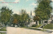 A View of Rector Street, Perth Amboy NJ 1915