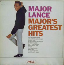 "MAJOR LANCE~""GREATEST HITS"" ORIG.OKEH LABEL~VG+"" LP"