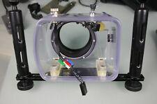 10bar Unterwasser-Gehäuse inkl. Canon 400d und Blitzgehäuse