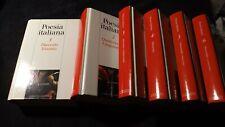 Poesia Italiana 6 voll Biblioteca Repubblica 2004