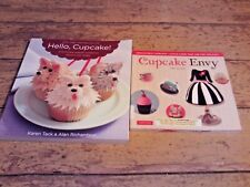 Hello, Cupcake! and Cupcake Envy cake decorating book lot
