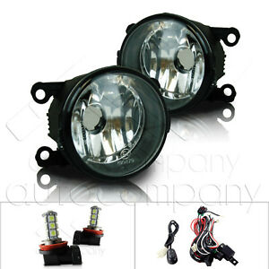 For 2014 Ram ProMaster Fog Lights w/Wiring Kit & LED Bulbs - Clear