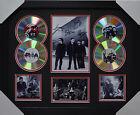 U2 SIGNED MEMORABILIA FRAMED 4 CD LIMITED EDITION V2 BLACK