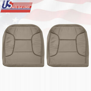 1992~1996 Ford Bronco Driver Passenger Bottom Leatherette Seat Cover Perforated
