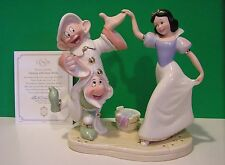 LENOX Disney DANCING with SNOW WHITE NEW in Box with COA Dopey