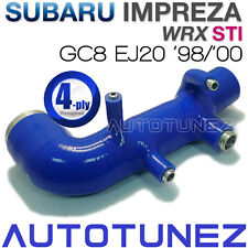 Silicone Car Induction Pipe Intake For Subaru Impreza WRX STI GC8 EJ20 Y2000 TU