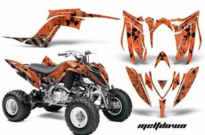 ATV Kit Grafica Decalcomania Copertura Per Yamaha Raptor 700R 13-18 MLTDWN K O