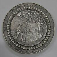1967 Medallic Art .999 Silver Medal Nebraska Statehood Centennial in Box