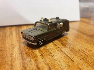 Majorette Dodge Fire Truck rare Army version
