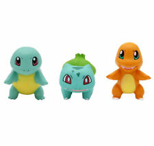 3pcs Pokemon Go Bulbasaur Charmander Squirtle Mini Figure Toy Gift