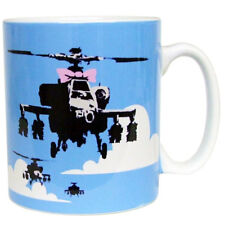 Banksy Happy Choppers Ceramic Coffee Mug – Makes an Ideal Gift