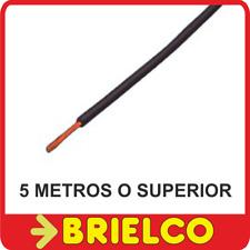 CABLE FLEXIBLE SILICONADO NEGRO PARA PUNTAS PRUEBA INSTRUMENTOS MEDIDA 5M BD7887