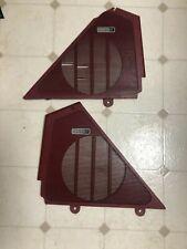 1987 88 Ford Thunderbird Turbocoupe Premium Sound Door Speaker Grill Lampr Maroon