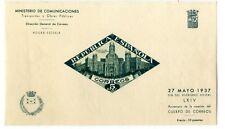 Sellos de España Beneficencia 1937 nº 18 Palacio de Comunicaciones Madrid Nuevo