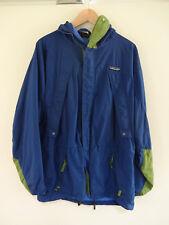 VTG PATAGONIA STORM Jacket 80s/90s Hong Kong MEDIUM Blue/Green