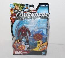 "Iron Man Fusion Armor Mark VII Action New Marvel Hasbro 2011 4"""
