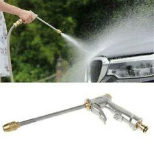 Garden Spray Water Gun Hose Long Nozzle High Pressure Adjustable Car Washer USA