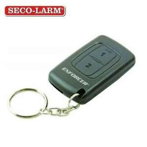 Seco-Larm - 315MHz Pendant RF Transmitter with 2 Button - 3 Channel - Pre-coded.