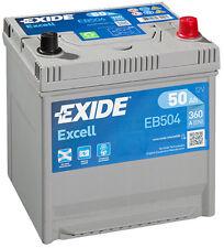 EXIDE Autobatterie Batterie 50Ah - EXCELL EB504 zzgl. 7,50€ Batteriepfand