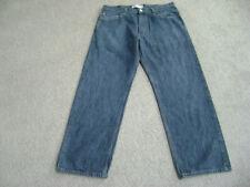 Levi 569 Loose Straight Blue Jeans  Measure 36x31  Tag 36x34  Excellent