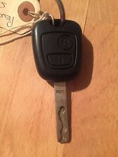 Used Peugeot 307 Remote Key Fob - Genuine Part